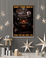 Soldier-cat don't fear pt ttb-nna 11x17 Poster lifestyle-holiday-poster-1