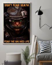 Soldier-cat don't fear pt ttb-nna 11x17 Poster lifestyle-poster-1