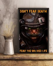 Soldier-cat don't fear pt ttb-nna 11x17 Poster lifestyle-poster-3