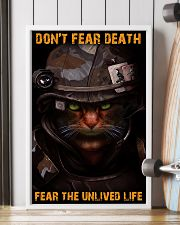 Soldier-cat don't fear pt ttb-nna 11x17 Poster lifestyle-poster-4
