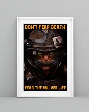 Soldier-cat don't fear pt ttb-nna 11x17 Poster lifestyle-poster-5