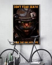 Soldier-cat don't fear pt ttb-nna 11x17 Poster lifestyle-poster-7