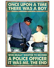 police once upon 24x36 Poster front