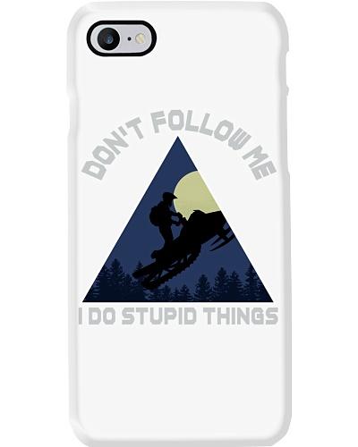 dont follow me snowmobile