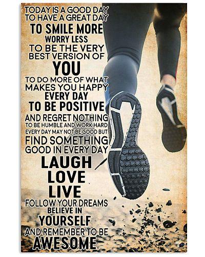 running today