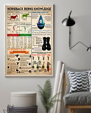Horseback Riding knowledge1 11x17 Poster lifestyle-poster-1