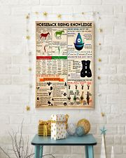 Horseback Riding knowledge1 24x36 Poster lifestyle-holiday-poster-3