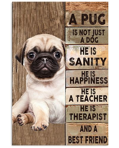 Pug is not just a poster
