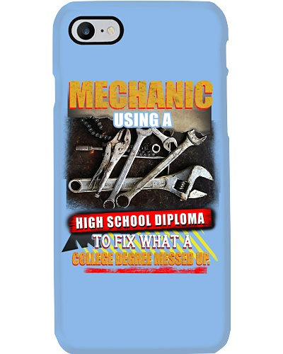 mechanic college degree messed up