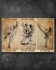 karate its not a phase pt mttn pml 17x11 Poster aos-poster-landscape-17x11-lifestyle-12