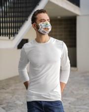 sloth yoga namastay mas Cloth Face Mask - 3 Pack aos-face-mask-lifestyle-13