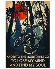 cycling find my soul poster 11x17 Poster front