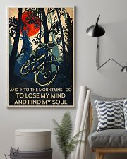 cycling find my soul poster 11x17 Poster lifestyle-poster-1