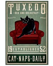 black cats tuxedo bed and breakfast poster 11x17 Poster front