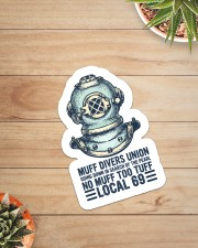 scuba Muff Divers Union sticker Sticker - Single (Vertical) aos-sticker-single-vertical-lifestyle-front-07