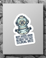scuba Muff Divers Union sticker Sticker - Single (Vertical) aos-sticker-single-vertical-lifestyle-front-09