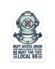 scuba Muff Divers Union sticker Sticker - Single (Vertical) front