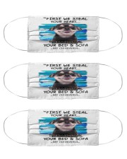 chihuahua steal mas Cloth Face Mask - 3 Pack front