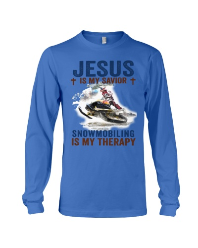 snowmobiling jesus therapy