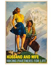 hiking partner for life poster 11x17 Poster front