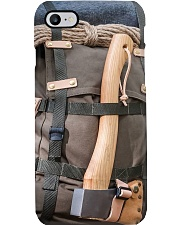 camping backpack axe pc phq nth Phone Case i-phone-8-case