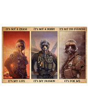 pilot not phase hobby life passion pt phq NTH 17x11 Poster front