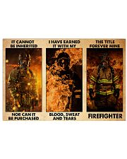firefighter see me quit poster ttb-NTH 17x11 Poster front