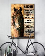 Horse best friend 16x24 Poster lifestyle-poster-7