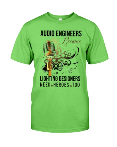 audio engineer being AE because