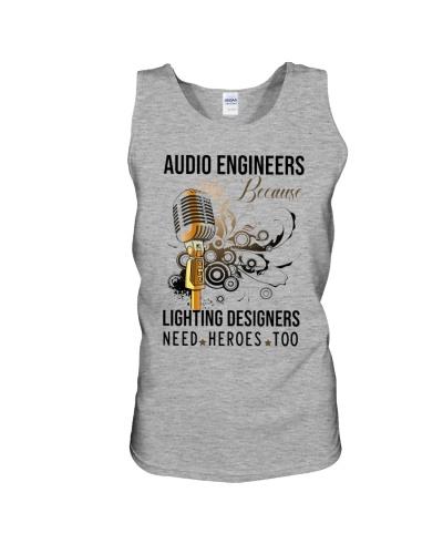 audio engineer being AE because