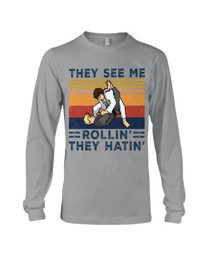 jiu jitsu rolling hating