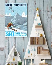 skiing no body is perfect 11x17 Poster lifestyle-holiday-poster-2