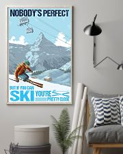 skiing no body is perfect 11x17 Poster lifestyle-poster-1