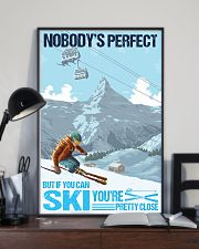skiing no body is perfect 11x17 Poster lifestyle-poster-2