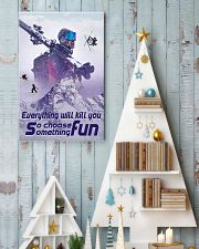 skiing choose something fun 19 poster 11x17 Poster lifestyle-holiday-poster-2