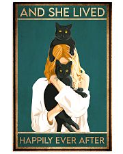 black cat happily ever after 11x17 Poster front