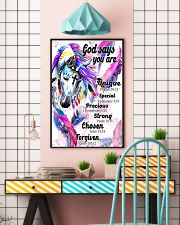 horse God says you are 16x24 Poster lifestyle-poster-6