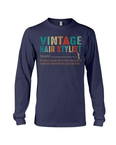 vintage hair stylist