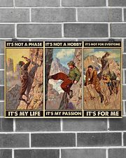 rock climbing not a phase pt phq ngt 17x11 Poster poster-landscape-17x11-lifestyle-18