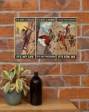 rock climbing not a phase pt phq ngt 17x11 Poster poster-landscape-17x11-lifestyle-23