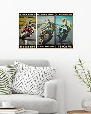Motorcycle Racer Isle o Mn TT its not mttn ngt 24x16 Poster poster-landscape-24x16-lifestyle-01