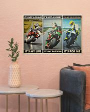 Motorcycle Racer Isle o Mn TT its not mttn ngt 24x16 Poster poster-landscape-24x16-lifestyle-22