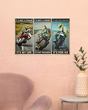 Motorcycle Racer Isle o Mn TT its not mttn ngt 24x16 Poster poster-landscape-24x16-lifestyle-23