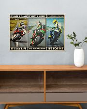 Motorcycle Racer Isle o Mn TT its not mttn ngt 24x16 Poster poster-landscape-24x16-lifestyle-25
