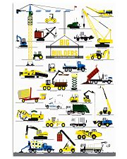 big builders and other mighty machines1 11x17 Poster front