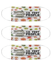 Cat 6 Feet PP Mas Cloth Face Mask - 3 Pack front