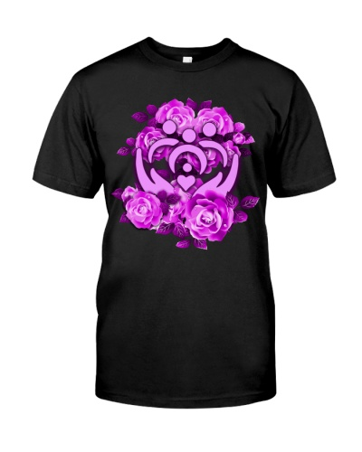 social-worker-purple-roses
