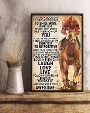 horse riding today 11x17 Poster lifestyle-poster-3
