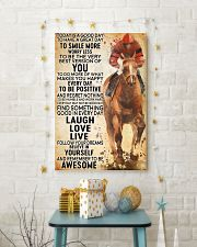 horse riding today 24x36 Poster lifestyle-holiday-poster-3