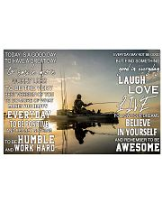 Kayak fishing today is a good day pt dvhh pml 17x11 Poster thumbnail